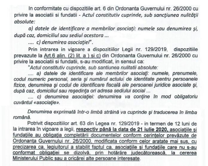 legea 129/2019 legea spalarii banilor