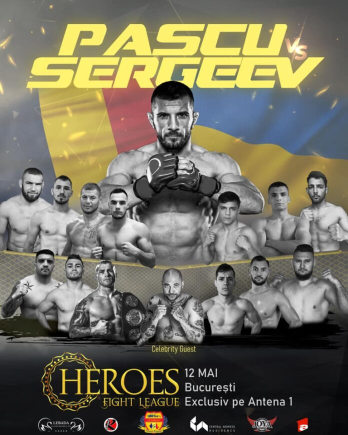 Afis Gala Heroes Fight Legue