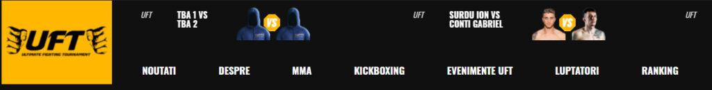 UFT Ultimate Fighting Tournament - Gala MMA K1